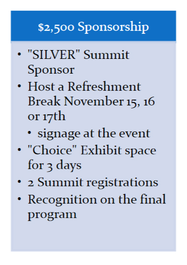 SILVER - Sponsors and Exhibitors
